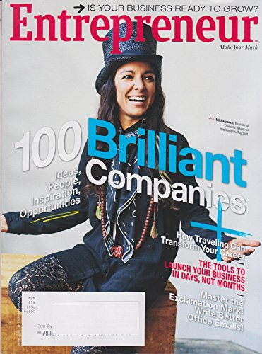 Entrepreneur June 2016 Miki Agrawal 100 Brilliant Companies, Ideas, People, Inspiration, Opportunites (Restaurants That Start With compare prices)