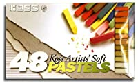 Pastel Chalk Set Has 48 Velvet Smooth Colors That Are Perfect For Applying To Paper, Cloth, Bisque Ceramics, Plaster, Etc.