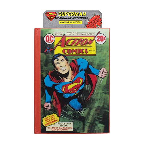 Paladone DC Comics Superman Lenticular Notebook - 1