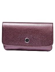 Womaniya PU Brown Handbag For Women(Size-28 Cm X 15 Cm X 3 Cm)