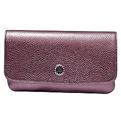 Womaniya Women's Handbag (Brown) (Signature Clutch)