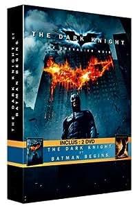 The Dark Knight, le chevalier noir - Batman Begins : coffret 2 DVD