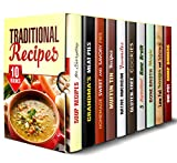 Traditional Recipes Box Set (10 in 1): Soups, Pies, Muffins, Cookies, and Other Favorites to Cook in Your Kitchen (Farmhouse Foods)