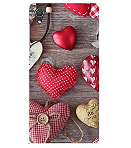Doyen Creations Designer Printed High Qulaity Premium case Back Cover For Sony Xperia Z4