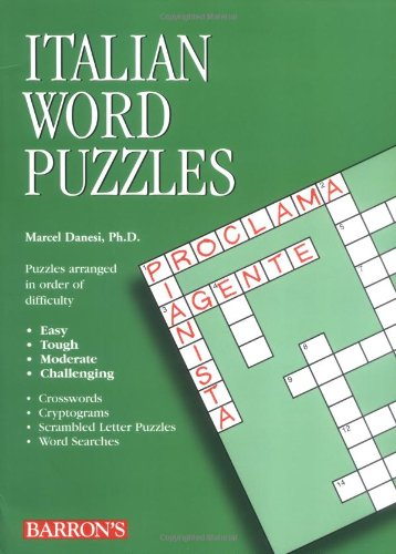 Italian Word Puzzles (Foreign Language Word Puzzles)