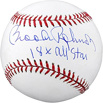 Brooks Robinson Baltimore Orioles Autographed Baseball with 18 X All-Star Inscription - Fanatics Authentic Certified