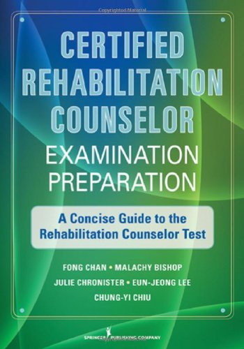Certified Rehabilitation Counselor Examination...