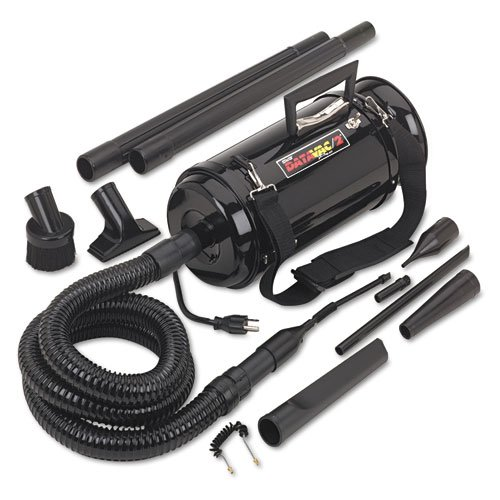DataVac® - Pro 2 Professional Cleaning System, w/Soft Duffle Bag Case, Black - Sold As 1 Each - 99.9% efficient on particles to .3 microns.