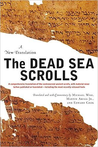 The Dead Sea Scrolls: A New Translation written by Michael O. Wise