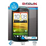 "atFoliX Displayschutzfolie f�r HTC One S (2er Set) - FX-Clear: Displayschutz Folie kristallklar! H�chste Qualit�t - Made in Germany!von ""Displayschutz@FoliX"""