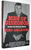 img - for Men of Dishonor: Inside the Sicilian Mafia : An Account of Antonino Calderone book / textbook / text book