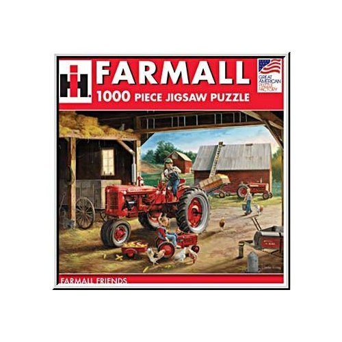 Cheap Fun Great American Puzzle Factory Farmall Friends 1000 Piece Puzzle (B0017QJZS4)