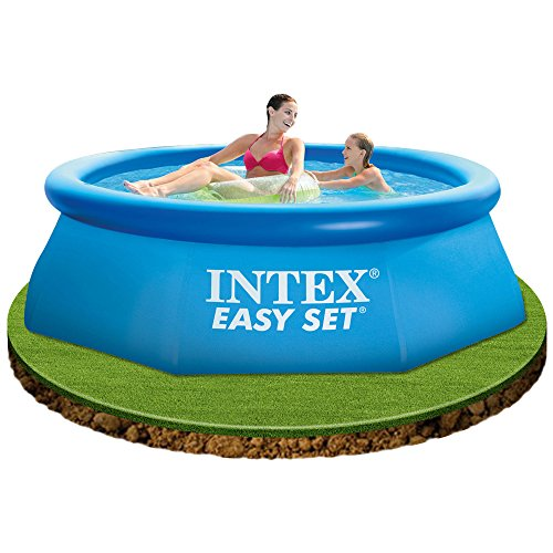 Piscina fuori terra intex easy set tonda 244cm con - Amazon piscine gonfiabili ...