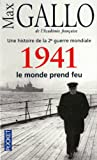 echange, troc Max Gallo - 1941 : Le monde prend feu