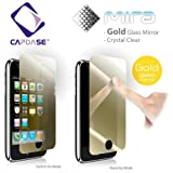 CAPDASE iPhone 3G & 3GS Professional Screen Guard mira 'Gold Glass Mirror' 「ゴールド・ミラー」 液晶保護シート SPIH3G-MG