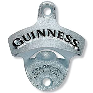 Arthur Guinness Extra Stout Irish Wall Mounted Bar Pub Beer Bottle Opener by Guinness