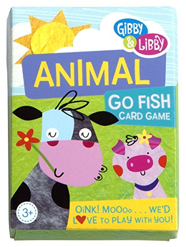 C.R. Gibson Animal Go Fish Card Game