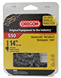 Oregon 14-Inch Semi Chisel Chain Saw Chain Fits Mastercraft, McCulloch, Remington, Stihl  S50
