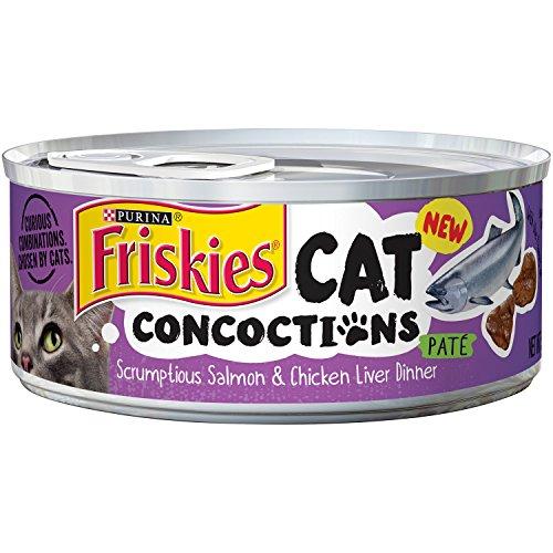 Friskies Cat Concoctions Scrumptious Salmon & Chicken Liver Dinner Pate