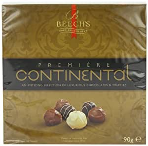 Beech's Premiere Continental Chocolates 90 g