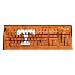 NCAA Tennessee Volunteers Wireless USB Keyboard by Keyscaper