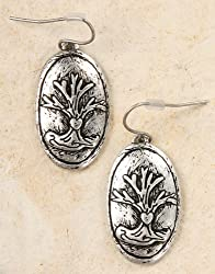 Tree of Life Earrings - Pewter