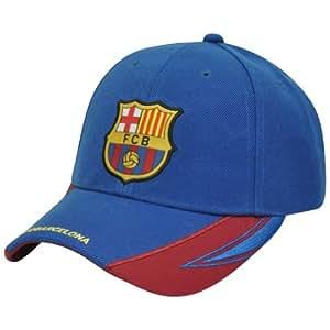 Amazon.com : Rhinox FC Barcelona FCB Spain Velcro Gorra Curved Bill La