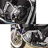 RENNTEC CHROME ENGINE CRASH PROTECTOR GUARDS BARS SUZUKI GSX1400 2001 ON