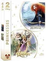 Princesses - Rebelle + Raiponce [Blu-ray]