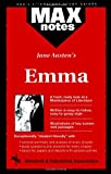 Emma (MAXNotes Literature Guides) (0878910123) by Hart, Jean