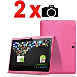 "Dual Camera Front/Back 7"" Tablet PC Android 4.1 Jelly Bean MID OS A13 Capacitive Screen DDR3 512MB BBC Iplayer Facebook Twitter Skype Video Calling Ebook Reader Maxtouuch"