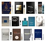 12-Mens-Cologne-Samples-Vials-Miniature-Set-Tom-Ford-Yves-Saint-Laurent