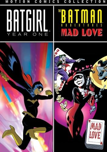 Batman Motion Comics Batgirl Year One Batman Adventures Mad Love by WB
