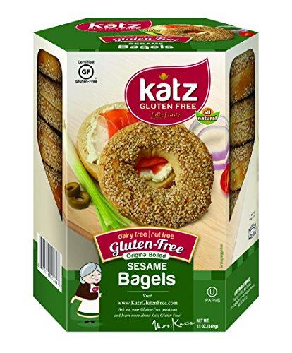 katz-gluten-free-sesame-bagels-13-ounce-certified-gluten-free-kosher-dairy-nut-free-pack-of-6