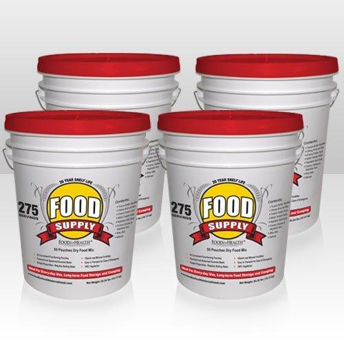 Emergency Food Supply - 1100 Servings