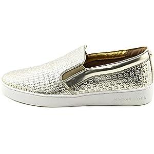 Michael Michael Kors Breck Slip On Women US 5 Gold Sneakers