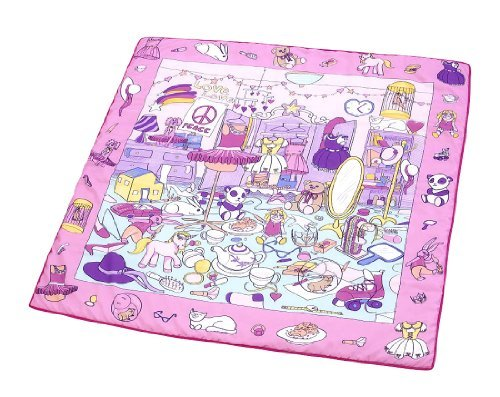 Stunning  Detail shop Truly Scrumptious What Do You See Interactive Reversible Blanket Pink u Green