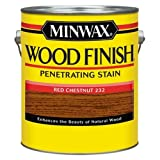 Minwax 710460000 Wood Finish Penetrating Stain, gallon, Red Chestnut (Color: Red Chestnut, Tamaño: Gallon)