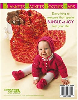 Bright Layettes to Crochet (Leisure Arts #3891): Carole Prior