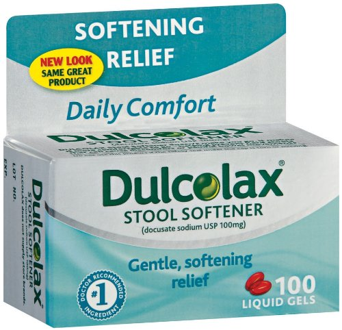 Colace Dosage Dulcolax Stool Softener