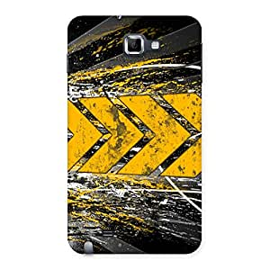 Forward Abstract Back Case Cover for Galaxy Note
