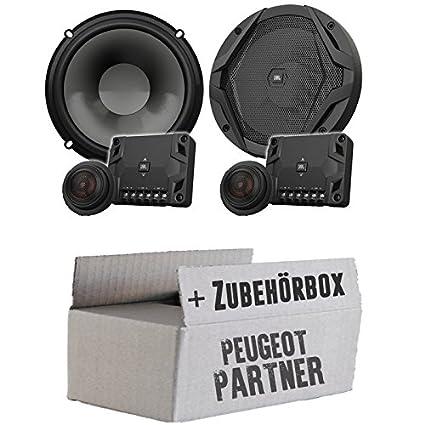 Peugeot Partner - JBL GX600C | 2-Wege | 16cm Lautsprecher System - Einbauset