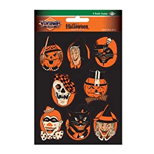 Beistle Character Stickers, 4-Inch by 6-Inch Sheet
