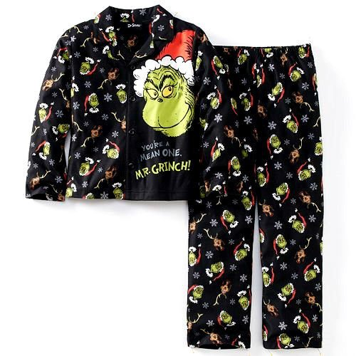 How The Grinch Stole Christmas Pajamas