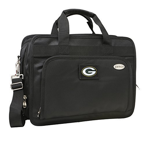 nfl-green-bay-packers-expandable-laptop-briefcase-13-inch-black-by-denco