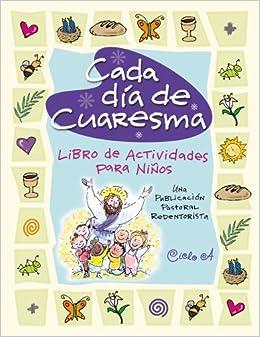 Cada dia de cuaresma libro de actividades para ninos una - Actividades para ninos pequenos ...