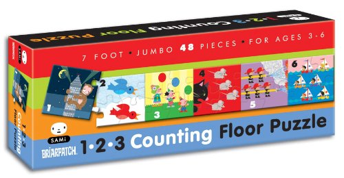 Briarpatch SAMi 123 Counting 7' Floor Puzzle
