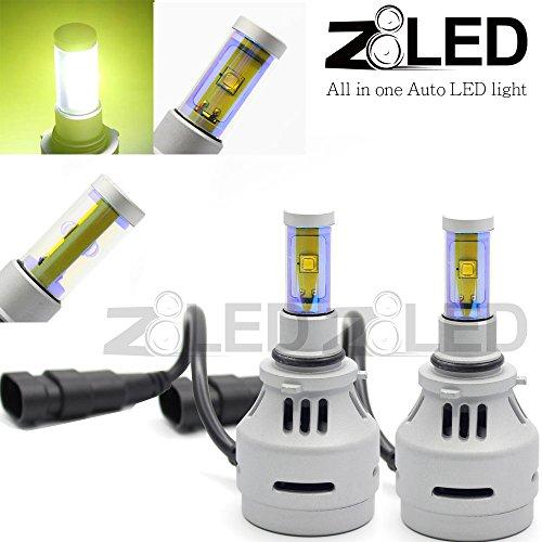 Z8 2X All-In-One 9006 Hb4 Cree Xm-L2 Led Headlight Auto Light High Power Super Bright, Xenon Yellow 4000 Lumen 3000K Fog Bulb Z8Led 3G90063000K
