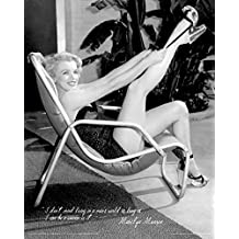 Marilyn Monroe Swimsuit Celebrity Icon Poster Print 16 By 20 By Beyond The Wall