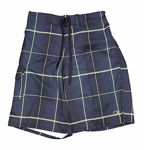 op-black-plaid-eboard-short-at-knee-22-outseam-swim-trunks-medium